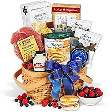 mothers day food gifts s day gift basket breakfast in bed gourmet