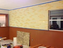 epbot diy faux brick painting tutorial