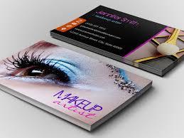 makeup artists business cards makeup artist business cards 6 card design ideas