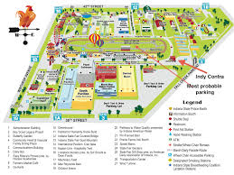 state fair map indiana state fair indy contra