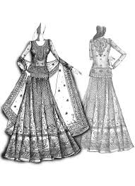 photos dress sketch designs drawing art gallery