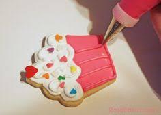cupcake cookies aa pinterest cookie decorating sugar