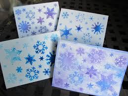 snowflake cards the crafter s workshop store