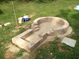 Rumblestone Fire Pit Insert by Fire Pit Finished Hearth Com Forums Home