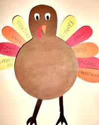 thankful turkey activity education