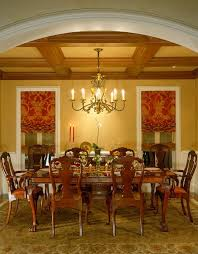 traditional dining room with hardwood floors by viscusi elson