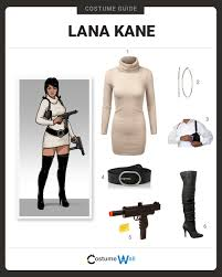 halloween archer costume dress like lana kane costume halloween and cosplay guides