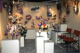 art show display lighting arts business institute craft trade show booth superstars