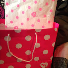 pink tissue paper pink s secret small pink bag with tissue paper from