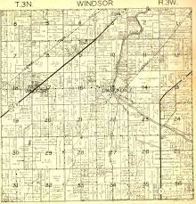 Jackson Michigan Map by 1943 Eaton County Plat Map