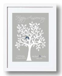 25th anniversary gifts wedding gift amazing 25th wedding anniversary gift on their