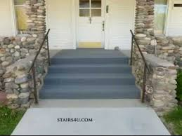 can you carpet exterior concrete stairs indoor outdoor