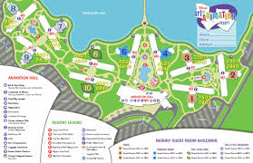 International Drive Orlando Map by Disney U0027s Art Of Animation Resort Map Photo 1 Of 1