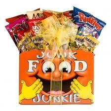 junk food gift baskets food junkie