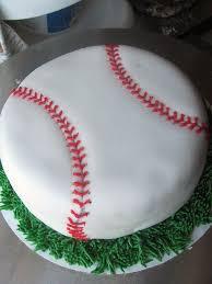 40th birthday baseball theme pin angels baseball cake