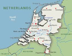 netherlands map netherlands map map of netherlands greenwich time
