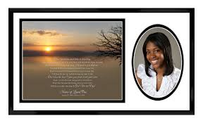 remembrance picture frame memorial plaques plaque in loving memory