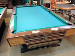 8ft brunswick pool table sold pre owned brunswick v i p pedestal 8ft over sized pool table