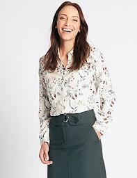womens shirts casual chiffon blouses m s