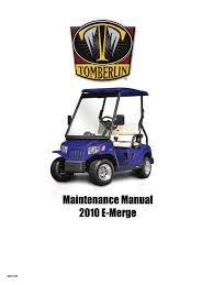 2010 emerge service manual steering battery charger