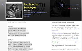 Top Bar Songs Top 5 Song Lyrics Finder Platform Or Website Absolutely Free