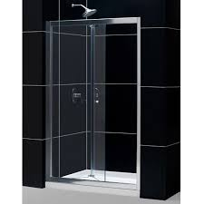bifold shower door frameless dreamline butterfly frameless bi fold shower door 36 single