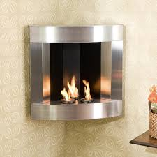 wall mount gel fuel fireplace decorating ideas simple under wall