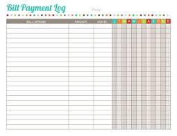 best photos of printable bill payment worksheet bill payment