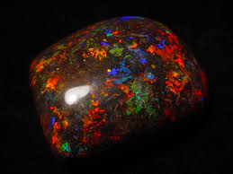 matrix opal ring andamooka matrix opal specimen shaped and polished piece