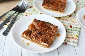 thanksgiving desserts made easy a pecan slab pie recipe the