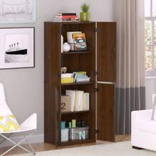 tall storage cabinet slim kitchen wall pantry broom closet linen