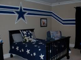 nfl spray paint stencils dallas cowboys colors navy blue bedroom