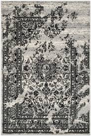 safavieh adirondack adr101a silver and black area rug free shipping