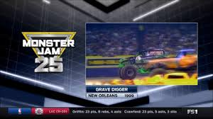 monster truck grave digger games grave digger freestyle new orleans 1999 youtube