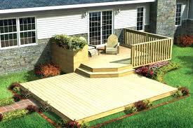 Deck Patio Designs Small Backyard Decks Patios Best Backyard Deck Designs Ideas On