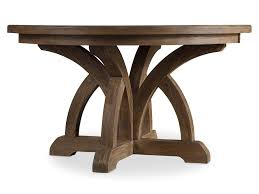 beautiful 60 inch round dining table with leaf and mahogany leaves