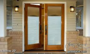 Exterior Entry Doors With Glass Louvres 2d Etched Glass Front Doors Exterior Glass Doors Glass