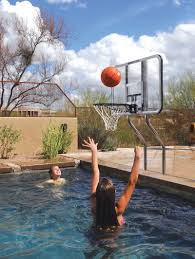 swimming pool basketball hoop target u2014 home landscapings