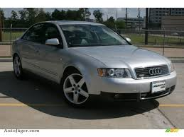 2003 audi a4 1 8 t sedan 2003 audi a4 1 8t quattro sedan in light silver metallic 365983