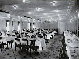 Titanic First Class Dining Room 379 Best Ships Liners Inside And Out Images On Pinterest
