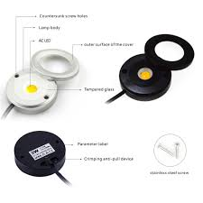 led puck lights under cabinet led spotlight picture more detailed picture about led kitchen