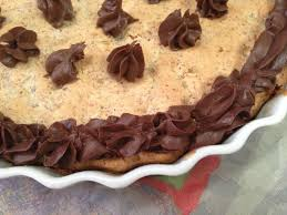 flourless almond apricot chocolate chip torte with natural