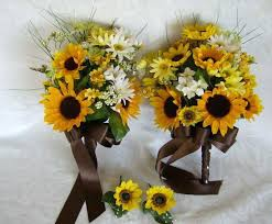 Sunflower Wedding Bouquet Sunflower Wedding Bouquets Ideas Medium Size Of Wedding Sunflower
