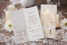 pop up wedding invitations wishmade 50x laser cut 3d gold gilding wedding
