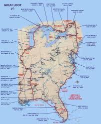 Map Chicago Loop by Great Loop 1 Map