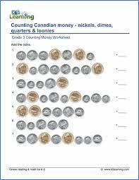 grade 3 counting money worksheets free u0026 printable k5 learning