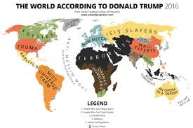 Mecca Map Artist Creates Hilarious World Map Which Pokes Fun At Donald