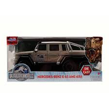 jurassic world jeep toy jurassic world 1 24 die cast mercedes g63 amg 6x6 walmart com