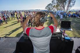 san diego electronic dance music dj at halloween party san diego