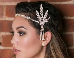 great gatsby hair accessories great gatsby hair etsy